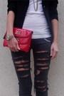 Black-diy-jeans-white-aa-t-shirt-black-zara-blazer-red-marc-by-marc-jacobs