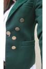 Black-vintage-jeans-white-zara-shirt-green-vintage-blazer-black-vintage-bo