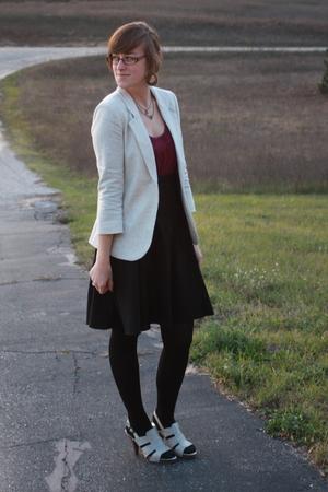 Silence & Noise blazer - kohls shirt - skirt - simply vera wang shoes - Icing ne
