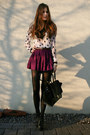 Black-lita-jeffrey-campbell-boots-light-pink-heart-h-m-shirt-black-bag