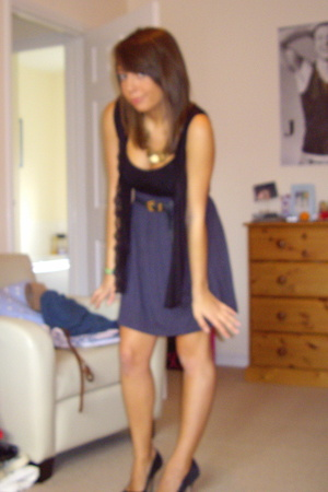 Urban Outfitters necklace - Topshop intimate - All Saints shoes