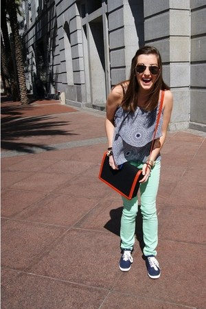 Urban Outfitters pants - Zara bag