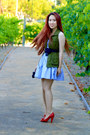 Sky-blue-seersucker-abercrombie-dress-army-green-old-navy-vest