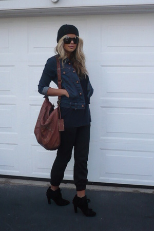 Betsey Johnson purse - Zara shoes - Betsey Johnson sunglasses - jacket