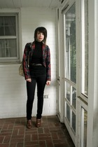 H&M blazer - H&M top - Urban Outfitters pants - forever 21 belt - Nordstrom shoe