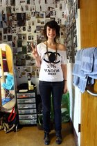 Baby Says Boutique t-shirt - Urban Outfitters jeans - vintage from duo shoes