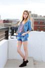 Zara-shorts-chambray-h-m-top
