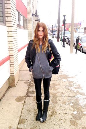 H&M hoodie - navajo ecote bag
