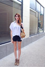 Color-block-asos-bag-black-leather-rampage-shorts-love-culture-top