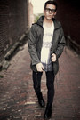 Dr-marten-boots-skinny-levis-jeans-gray-f21-jacket-forthedistrictus-shirt
