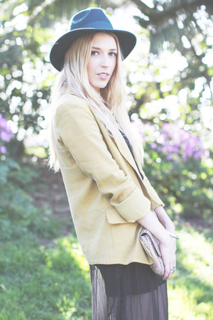 mustard Willow &amp; Clay blazer - black Lucky Brand boots