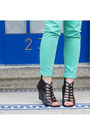 Black-kelsi-dagger-shoes-aquamarine-zara-jeans-black-zara-jacket-black-mar