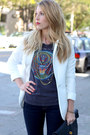 Black-kelsi-dagger-shoes-navy-levis-jeans-white-h-m-blazer-black-clutch-ma