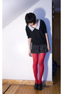Gray-vintage-sweater-black-forever-21-shorts-red-hyaku-en-shoppu-tights-bl
