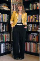 Loft blazer - H&M shirt - JCP pants