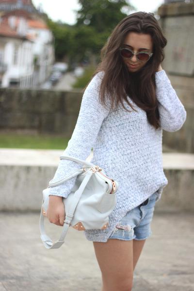 Alexander Wang bag - Isabel Marant boots - Zara sweater