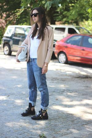balenciaga boots - BLANCO jeans - asos blazer - Alexander Wang bag