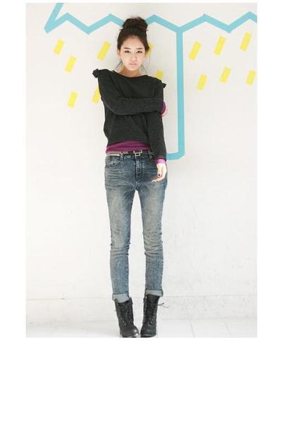 Jade top - random from Hong Kong t-shirt - random from Hong Kong jeans - random