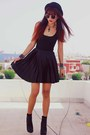 Black-bershka-boots-black-motelrocks-dress