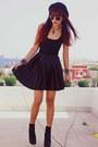 Black-bershka-boots-black-motelrocks-dress