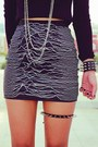 Black-oasap-necklace-black-spikes-romwe-bracelet