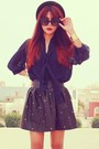 Black-thequietriot-glasses-navy-bow-clubcouture-blouse-black-romwe-skirt