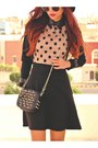 Black-romwecom-bag-light-orange-zlzcom-dress-black-suede-choiescom-heels