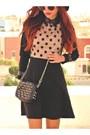 Black-romwecom-bag-light-orange-zlzcom-dress-black-suede-choiescom-heels
