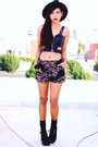 Black-creepers-choiescom-shoes-black-romwecom-shorts-black-romwecom-bra