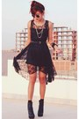 Black-romwe-dress-black-punk-spike-oasap-necklace-black-round-romwe-glasses