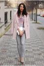 Light-pink-warehouse-coat-lindex-jeans-light-purple-diy-shirt