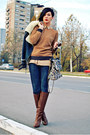 Dark-brown-stradivarius-boots-blue-zara-jeans-blue-mango-jacket