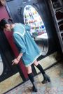 Vintage-dress-dress-acne-shank-boots-otk-socks