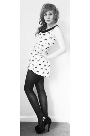 Primark dress - bank heels