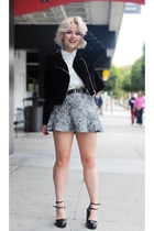 skirt mermaid H&M jacket - Zara skirt