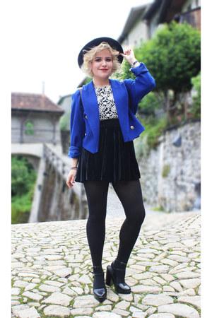 Forever 21 top - velvet Ebay skirt