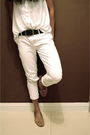 Cotton-on-shirt-mango-pants-artwork-shoes-vintage-scarf-cotton-on-access
