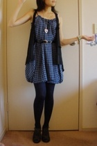 Riders by Lee dress - none vest - tights - Charles and Keith shoes - belt - Fore
