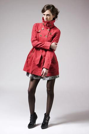 red BB Dakota jacket