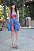 blue dress free people dress