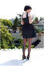 Pink-blouse-black-modcloth-chictopia-dress-black-stockings-black-shoes