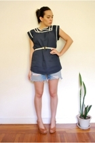 lark & wolff by steven alan from urban outfitters blouse - qvc seriously belt -