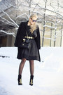 Black-zara-boots-black-chanel-bag-black-darling-clothing-skirt