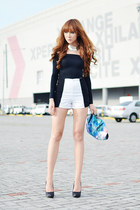 worn as top Korean Rose dress - Vantan Manila shorts - Call it Spring heels