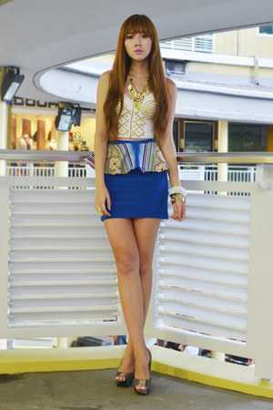 Bubbles skirt - Primadonna heels - sm accessories accessories