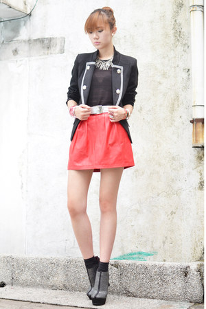 michael antonio wedges - causeway mall jacket - Project Muse bracelet