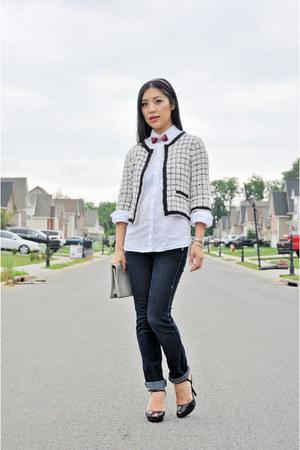 Alannah Hill jacket - Bettina Liano jeans - Gap shirt