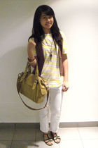 yellow giordano t-shirt