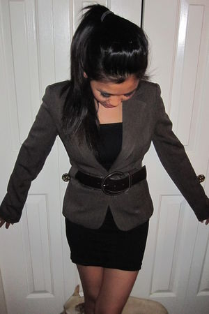 blazer - belt - Marciano by Guess dress