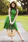 green eShakti dress